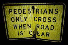 Señales de tráfico en #Australia!