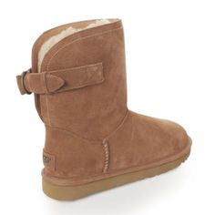 UGG authentic Ramona chestnut boots Sz 7 new UGG authentic Ramona chestnut boots Sz 7 new 100% authentic Soft wool hugs the interior of this soft suede boot for added warmth, while a lightweight molded sole absorbs shock on impact. Pull-on Suede upper Wool lining EVA sole Imported UGG Shoes