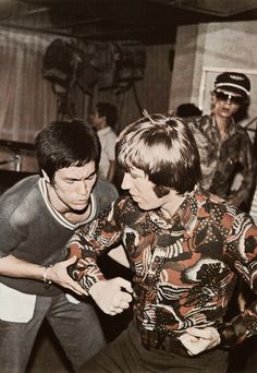 Bruce Lee & Chuck Norris. Way of the Dragon.