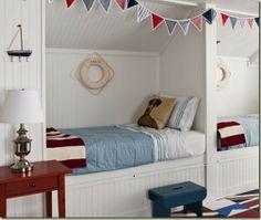 love built in bunks!