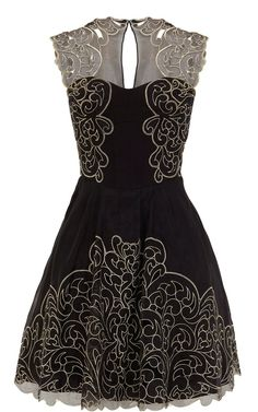 Baroque Lace Dress / Karen Millen