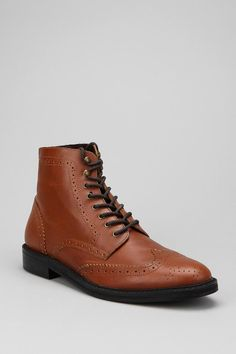 Clothing, accessories and apartment items for men and women. Brown Brogues, Rubber Dress, Gentleman Style, Shoe Collection, Combat Boots, Urban Outfitters, Oxford Shoes, Dress Shoes, Lace Up