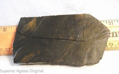 Gold Sheen Obsidian Lapidary Slab for Cutting by superioragates, $5.00