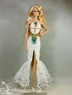 "OOAK outfit for Fashion Royalty FR2 and similar 12""dolls from   ARIADNA STYL"