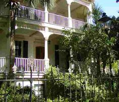 You can find some buildings on this website from the 1800's of all different architectural styles!
