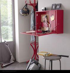 wall desk ,http://reneefinberg.blogspot.com/,  http://www.laredoute.fr