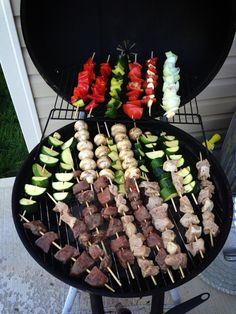 Sweet and Salsa Sisters: Kebobs