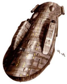 The MC40a light cruiser or Mon Calamari Light Cruiser was a Mon Calamari Star Cruiser design.[1]