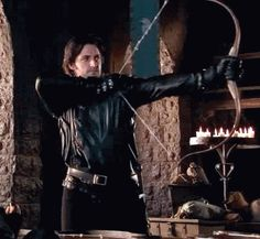 Knight with his Bow Drawn - Sir Guy of Gisborne