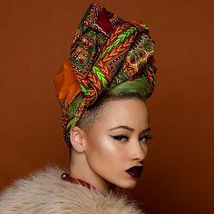 All Things Ankara: Headwraps: Fanm Djanm x Island Boi Photography (Joey Rosado)