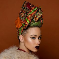 All Things Ankara: Headwraps: Fanm Djanm ~African fashion, Ankara, kitenge, African women dresses, African prints, African men's fashion, Nigerian style, Ghanaian fashion ~DKK
