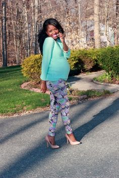 Pregnancy Fashion. Stylish Maternity Wear.  Expecting Moms.