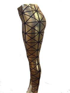 Sparkle and Shine Leggings by OuterSpaceways on Etsy