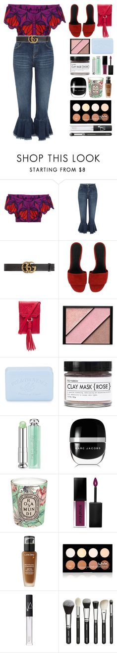 """""""5.823"""" by katrinattack ❤ liked on Polyvore featuring Alice McCall, River Island, Gucci, Alexander Wang, Cleobella, Elizabeth Arden, Pré de Provence, Fig+Yarrow, Christian Dior and Marc Jacobs"""