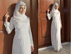 Платье мусульманское на никах фото