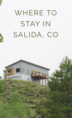 From AirBnB to local boutique Hotels - we've done the research for you! Check out this article on where to stay in Salida & Buena Vista, Colorado.