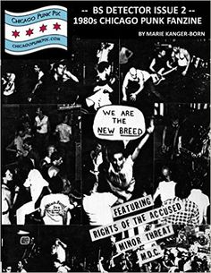 9 best punk photo booksfilms that my images are in images on bs detector issue 2 1980s chicago punk fanzine kindle edition by marie kanger fandeluxe Gallery