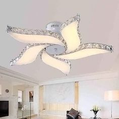 "29"" Modern Crystal Pendant Light Ceiling Lamp Chandelier Dining Room Lighting                                                                                                                                                                                 More"