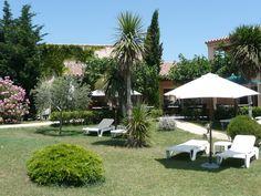 Espace extérieurs et jardins, de l'hôtel BEST WESTERN Aurélia