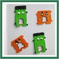 girl scout swaps ideas easy | designed as magnets, but I can see doing these as a Halloween SWAP ...