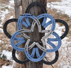Items similar to Large Horseshoe star wreath **can take up to 12 week** on Etsy Horseshoe Wreath, Horseshoes, Cannon, Iron, Wreaths, Stars, Metal, Lace, Creative