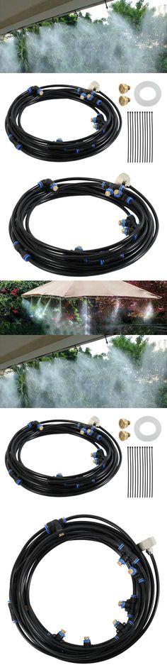 Set of 3 Orbit Portable 1//4-Inch Mist Cooling System Mist Kit Hose Patio Air 12/'