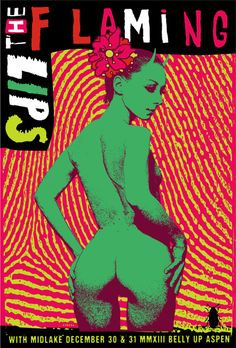 GigPosters.com - The Flaming Lips - Midlake