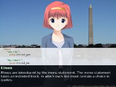 Renpy Tutorial   Learn To Make Your Own Visual Novels With RenPy, Or Play One Of These