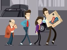 Seinfeld Fan Gif - The Parking Garage by Chris Phillips