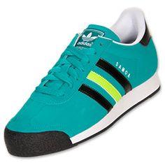 Men's adidas Samoa Casual Shoes  Aero Reef/Black/Slime