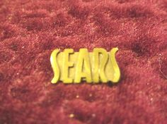 vintage Sears and roebuck service award pin pinback