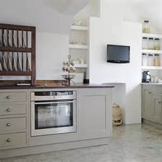 lite grey kitchen cabinets - Yahoo! Image Search Results