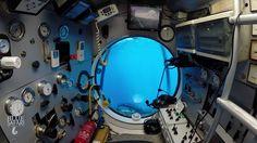 Dans le sous-marin Blue Safari