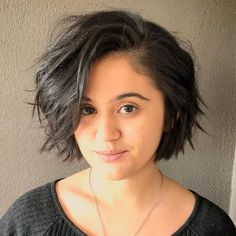 Top 60 Flattering Hairstyles for Round Faces Short Choppy Combover Bob - Top 60 Flattering Hairstyles for Round Faces Short Choppy Combover Bob - # short hair styles for round faces chubby Bob Hairstyles For Round Face, Plus Size Hairstyles, Short Hair Styles For Round Faces, Short Thin Hair, Easy Hairstyles For Medium Hair, Short Hair With Bangs, Short Hairstyles For Women, Medium Hair Styles, Curly Hair Styles
