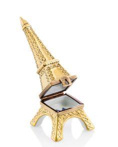 Rochard Limoges Eiffel Tower Box.