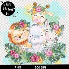 Cute Bee, Bee Theme, Safari Animals, Beautiful Artwork, Cute Cartoon, Cute Drawings, Digital Illustration, Digital Image, Digital Prints