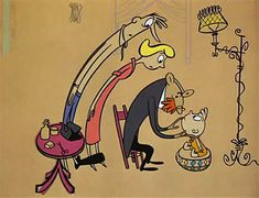 'Gerald McBoing Boing' by United Productions of America (UPA), Directed by Robert Cannon. 60s Cartoons, Classic Cartoons, History Of Animation, Animation Film, Retro Kunst, Retro Art, Cartoon Kunst, Bobe, Cartoon Art Styles