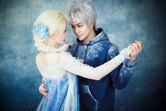 Fans help Jack Frost and Queen Elsa find magical, frosty love