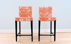 Oilcloth covered dining chairs? @danamade