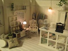 Miniature Shabby Chic Boutique