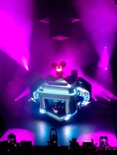 Deadmau5 - would love just to forget all worries for a night and go to one of his concerts.
