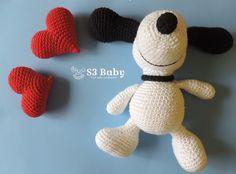 Snoopy Amigurumi Crochê