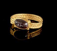 Golden ring,Roman,4th-5th century AD