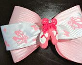 Small bow tie ballet bow