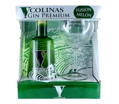 Exclusivo Pack Gin Premium V Colinas-Copa ● Innovadora ginebra premium de triple destilación con aroma a melón. La primera ginebra con melón del mundo, la primera ginebra premium de Cartagena. Degusta el verdadero sabor a historia del mediterráneo. Ahora, puedes disfrutar de tus Gin Tonic con esteExclusivo pack Gin Premium V Colinas que incluye una Copa de Balón.  - , #Cartagena #Gin #Historia #Melón #Pack #Premium #NoLoOlvides