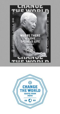 Change the World: Posters by Alonglongtime | Inspiration Grid | Design Inspiration