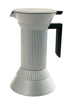Italian espresso maker- Aluminium by Serafino Zani