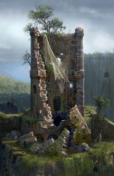 Fortress Tower Damage from Uncharted: Drake's Fortune