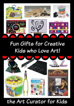 the Art Curator for Kids - Fun Gifts for Creative Kids who Love Art, Ages 8-13, Art Gifts for Middle Schoolers, Art Gifts for Tweens, Art Gifts for Elementary, Art Gifts for Kids