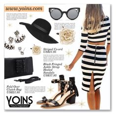 """Yoins 5"" by dressedbyrose ❤ liked on Polyvore featuring DANNIJO, Topshop, Fendi, Monsoon, women's clothing, women, female, woman, misses and juniors"